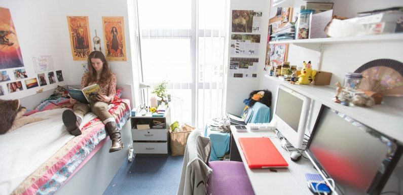 Types of student accommodation